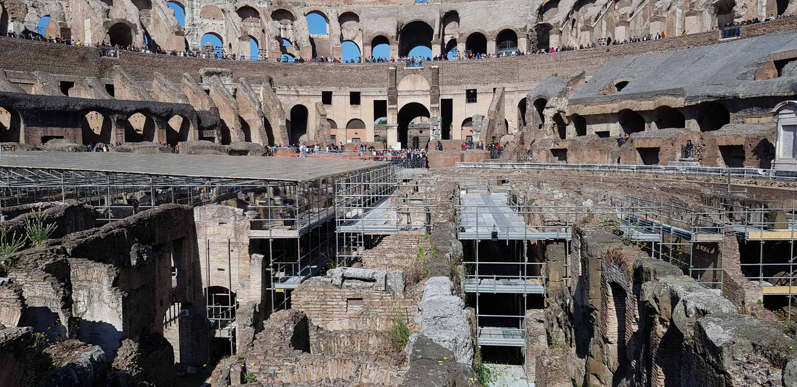 Colosseum, Arena, Underground, Forum and Palatine Hill